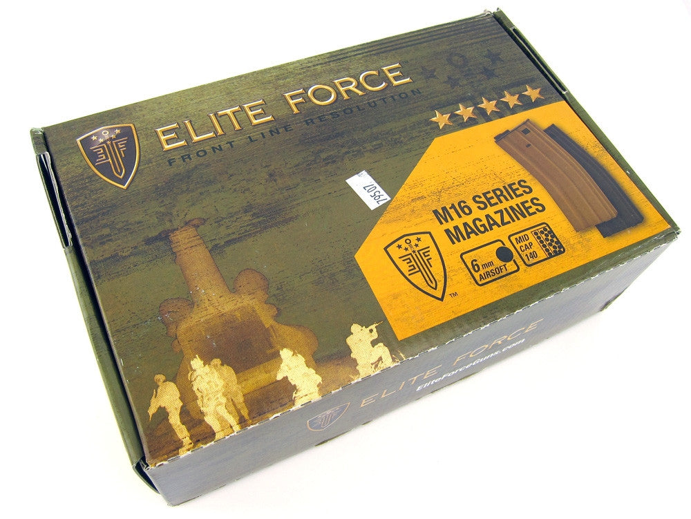 Elite Force M16 140-Round Magazine Box Set (10-Pack) Black