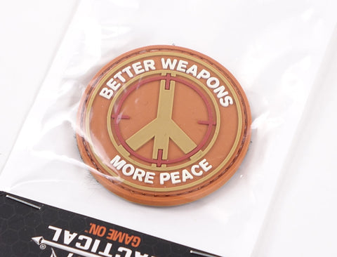 Warhead Better Weapons PVC Patch