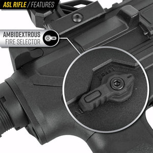 Valken ASL Echo M4 AEG Black (Combo Package)