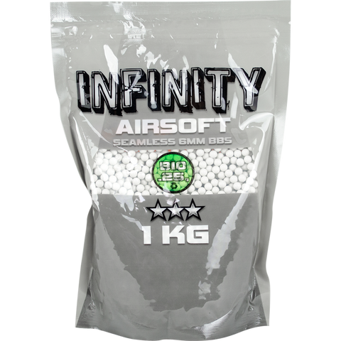 Valken Infinity White BIO Airsoft BBs - Bag (Biodegradable)