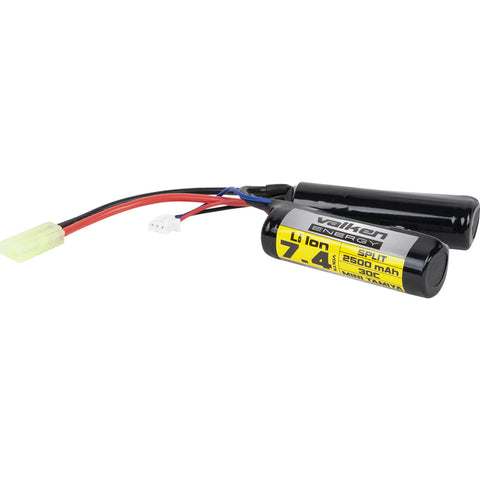 Valken 7.4v 2500mAh Nunchuck High Output Li-Ion Battery