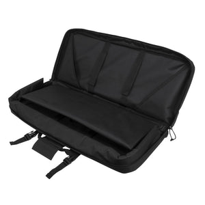 NcSTAR 28 Inch Double SMG Gun Bag Case - Black Deluxe