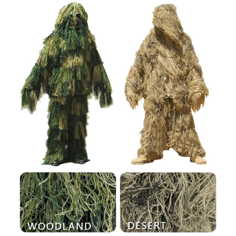 Condor Tactical Ghillie Suit - Sniper Camo