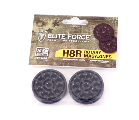 "Elite Force H8R Revolver ""magazine"" 10 Rounds (2 Pack)"