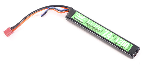 Valken 7.4v 1200mAh Stick Lipo Battery - Deans