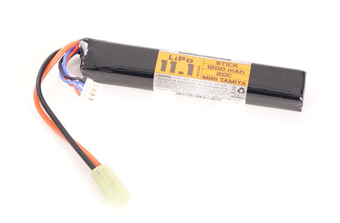 Valken 11.1v 1200mAh Stick Lipo Battery