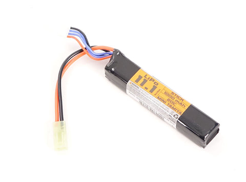 Valken 11.1v 1000mAh Stick Lipo Battery