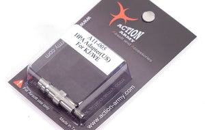 Action Army HPA Adapter for WE and KJW Magazines - CNC Steel Fill Valve