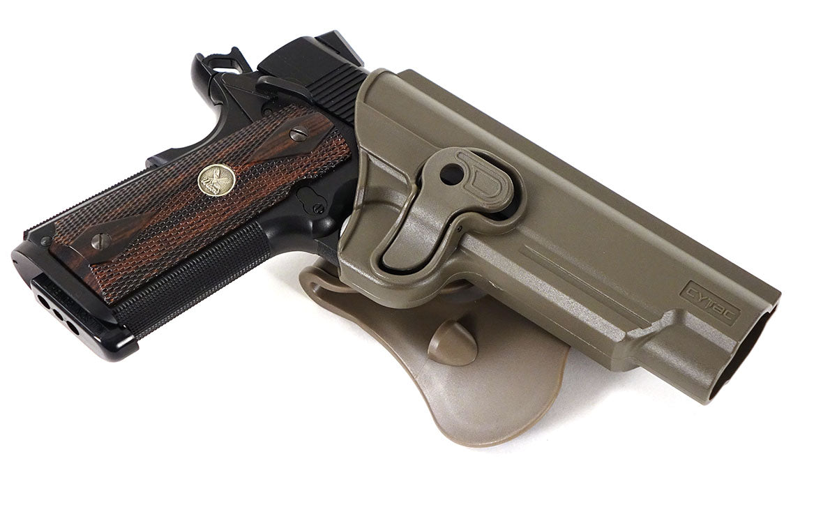 Cytac 1911 Holster - Dark Earth Tan