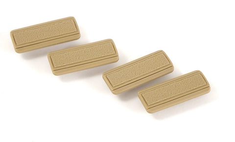 G&G M-LOK Rail Panel Covers (4 pieces) - Tan
