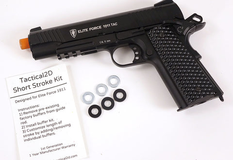 Tactical 2D Short Stroke Kit for Elite Force 1911