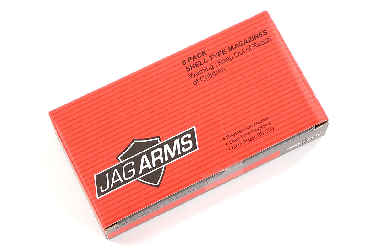 Jag Arms Shotgun Shells - 6 Pack (Scattergun gas)