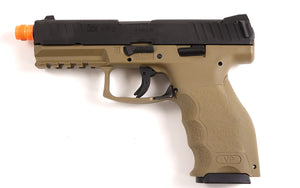 HK VP9 Green Gas Full-Blowback Pistol - Tan