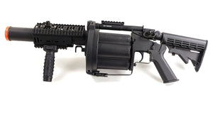 ICS 6-Shot 40mm Airsoft Gas Grenade Launcher - Long