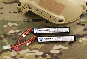 Vengeance 7.4v 2000mAh Stick Li-Ion (Li-Po) Battery