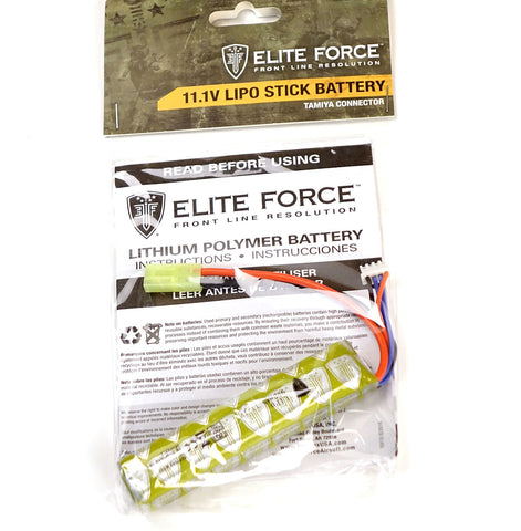 Elite Force 11.1v 900MAh LiPo Stick Battery
