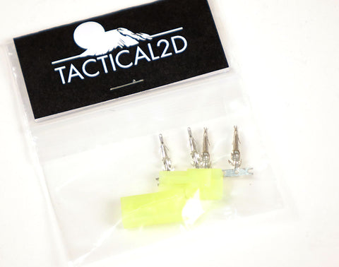 Tactical 2D Mini Tamiya Plug Connector Set