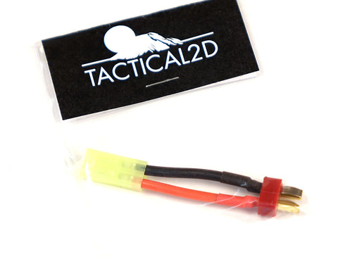 Tactical 2D Female Tamiya to Male Deans Adapter