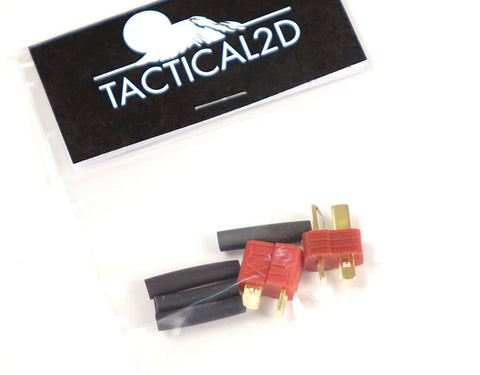 Tactical 2D Deans Plug Connector Adapter Set