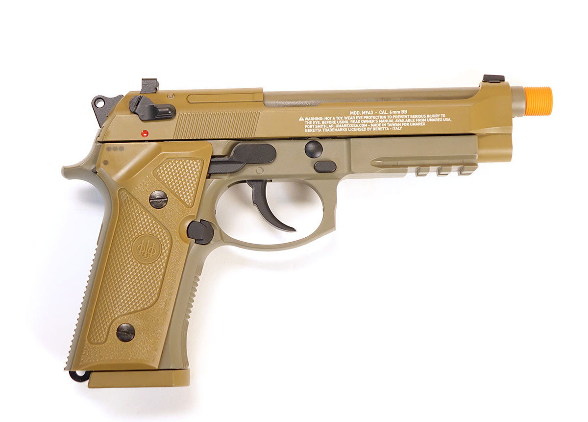 Beretta M9A3 GBB Co2 Gas Pistol (Semi/Full-Auto) - Tan