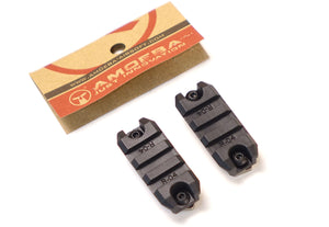 Amoeba 2 inch M-Lok Rail Mount Adapter (2-Pack)