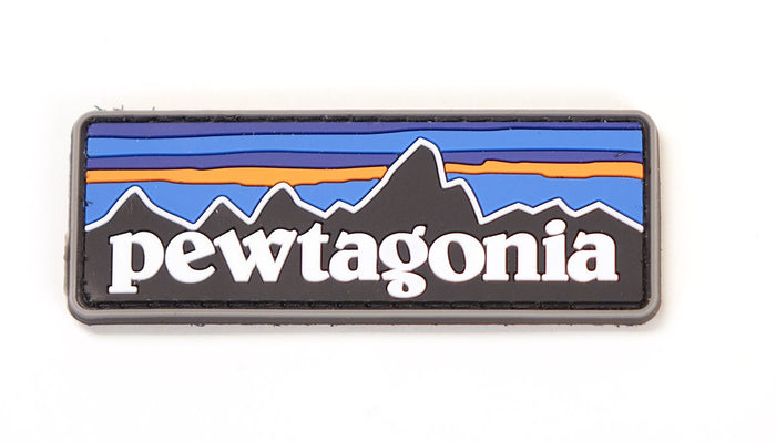 Pewtagonia PVC Patch