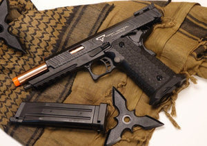 JAG Arms TTI Taran Tactical CM Hi-Capa Green Gas Blowback Pistol