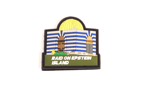 Raid on Epstein Island Patch