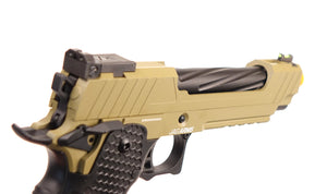 Jag Arms 5.1 Hi-Capa GMX Green Gas Blowback Pistol