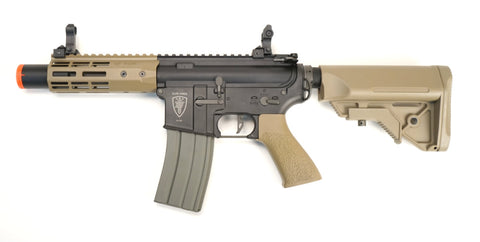 Elite Force M4 CQC AEG M-Lok - Black/Tan