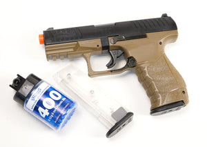 Walther PPQ Spring Pistol - Tan