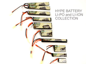 HYPE 7.4v 250mAh Battery (LiPo) - HPA