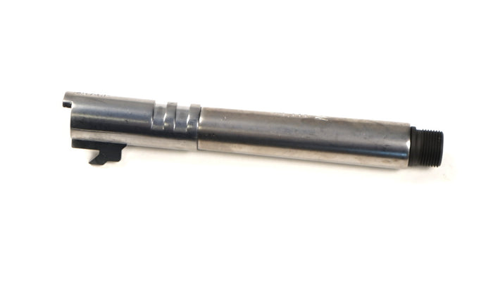 WE Tech Silver Threaded Outer Barrel for 5.1 Hi-Capa
