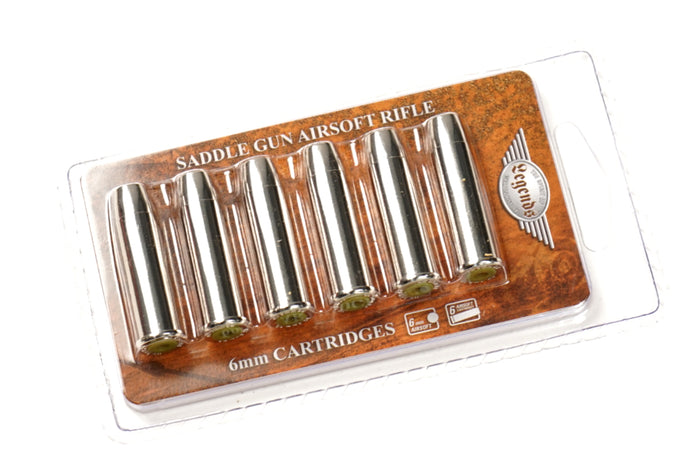Elite Force Legends Saddle Lever Action Spare Shells (6 Pack)
