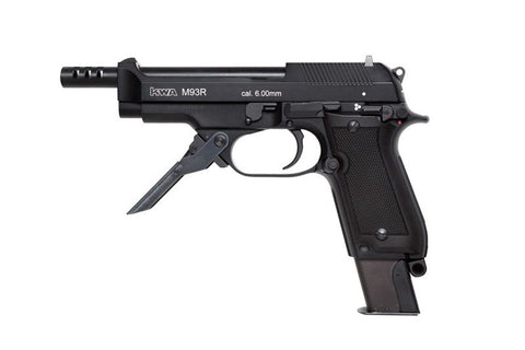 KWA M93RII NS2 Full Auto Metal GBB Pistol - Black
