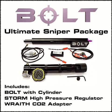 Wolverine BOLT ULTIMATE Sniper HPA Package