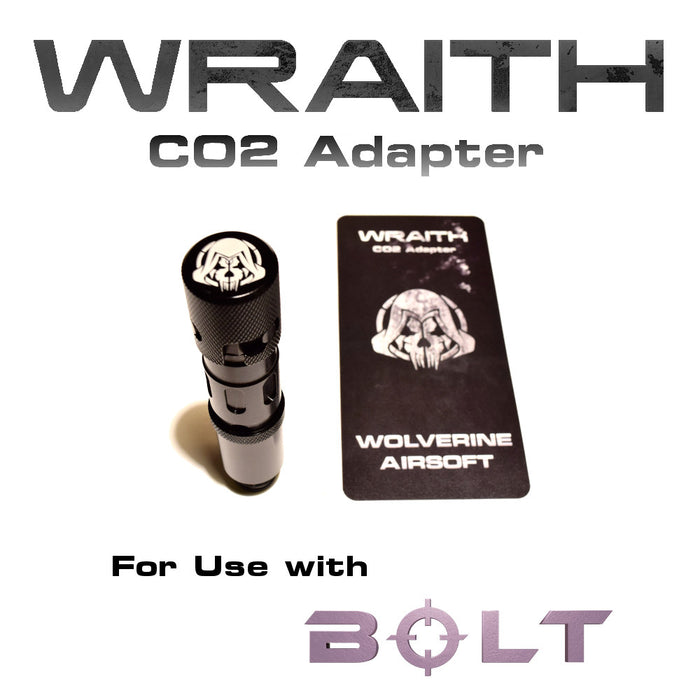 Wolverine BOLT Wraith CO2 Adapter (HPA)