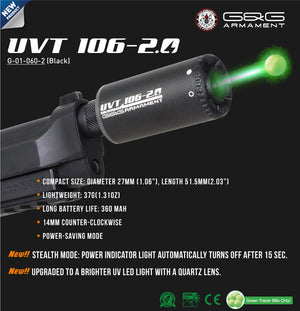 G&G UVT106-2.0 Tracer Unit 14mm CCW