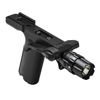 NcSTAR Vertical Grip with Strobe Flashlight - Picatinny