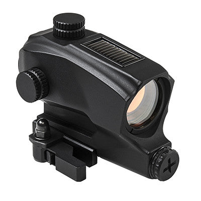 NcSTAR SPD Solar Reflex Dot Sight Black 1x30 - VDBSOL130