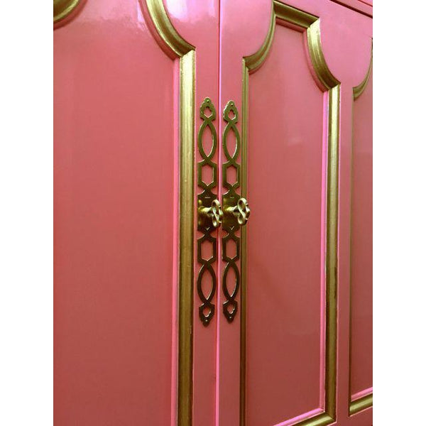 Pair of Hollywood Regency Pink Cabinets by Dorothy Draper for Heritage