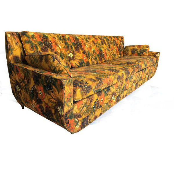 Vintage Castro convertible sofa left side