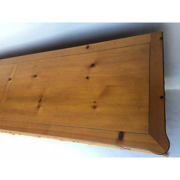 Baker Furniture Chinese Chippendale Bamboo Dresser top view