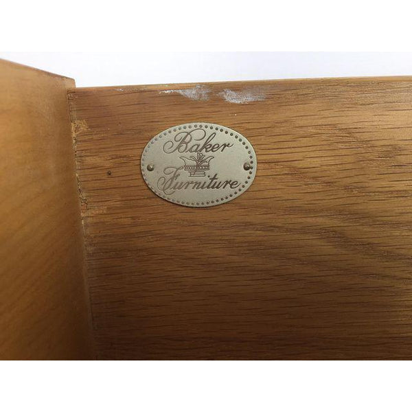 Baker Furniture Chinese Chippendale Bamboo Dresser logo