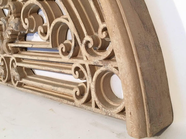 Large Ornamental Faux Metal Gate Wall Hanging
