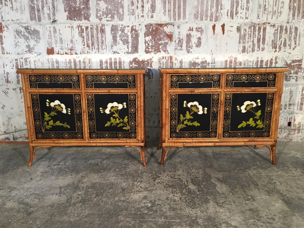 Pair of Vintage Asian Cabinets