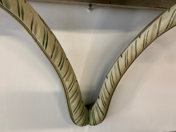 Acanthus Leaf Wall Shelf in the Manner of Dorothy Draper