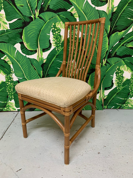 Rattan Bentwood Dining Chairs, Set of 6 close up