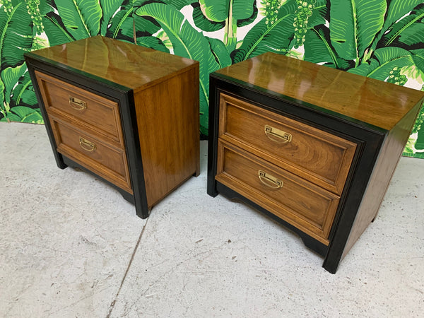 Thomasville Two-Toned Nightstands side view