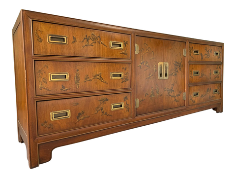 Asian Chinoiserie Dresser Dynasty by Heritage Furniture
